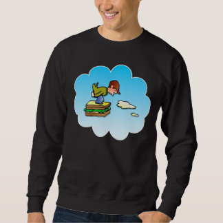 Flying Sandwich Sweatshirt