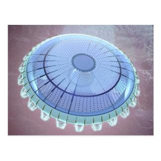 Flying Saucer - America's UFO Postcard
