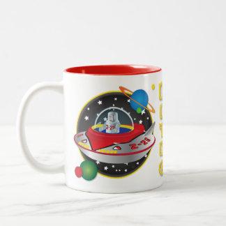 Flying Saucer Mug Design