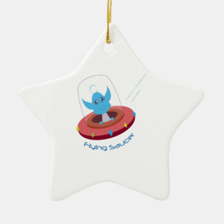 Flying Saucer Christmas Tree Ornaments
