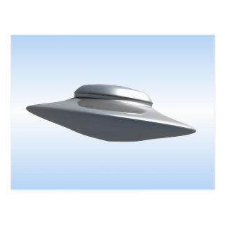 Flying Saucer Postcard
