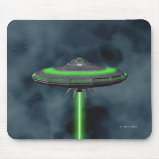 Flying Saucer - Sci-Fi Mousepad