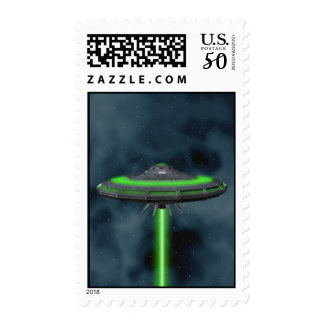 Flying Saucer - Sci-Fi Stamps