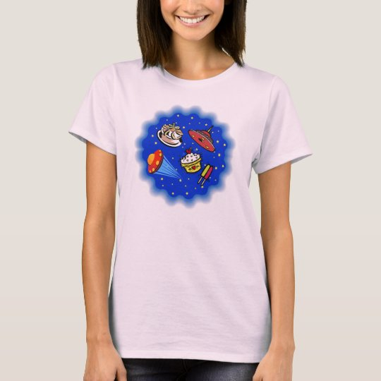 Flying Saucers & Desserts T-Shirt
