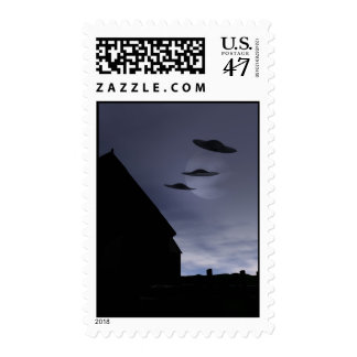 Flying Saucers Postage