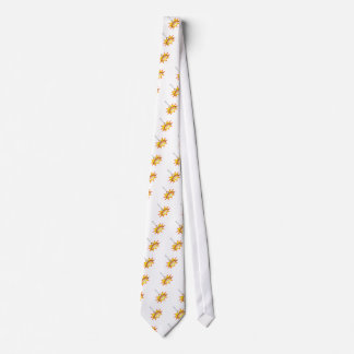 Flying sausage - food fight neck tie