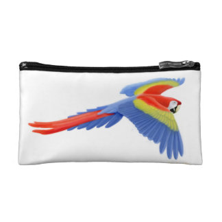 Flying Scarlet Macaw Parrot Bagettes Bag