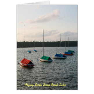 Flying Scots, Deep Creek Lake Card