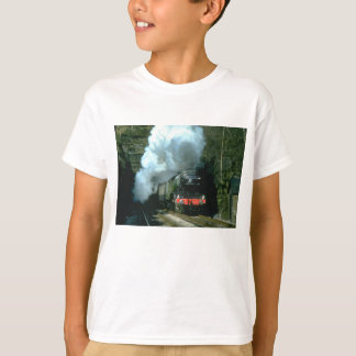 Flying Scotsman caught between tunnels at Barons W T-Shirt