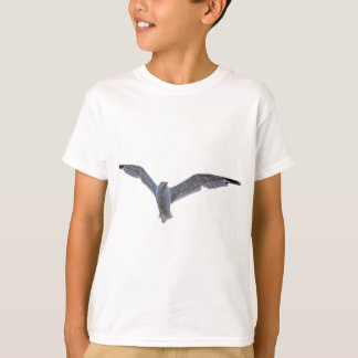 Flying Sea Gull Wildlife Photo for Birdlovers T-Shirt