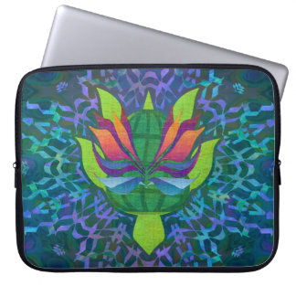 Flying Sea Turtle Laptop Sleeve