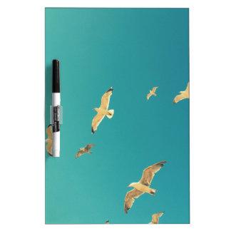 Flying seagulls, beautiful, original gifts dry erase board