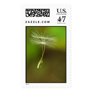 Flying seeds postage
