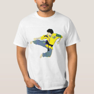 """Flying Side Kick"" T-Shirt"