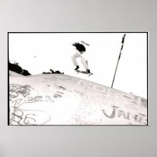 Flying Skater Boy Print