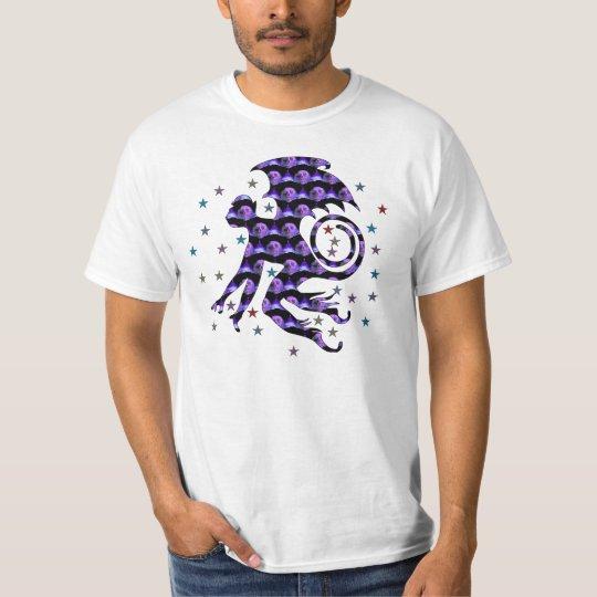 Flying Skull Monkey T-Shirt