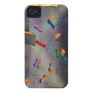 Flying Snails iPhone 4 Cover