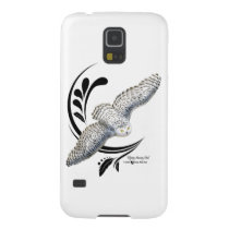 Flying Snowy Owl Galaxy S5 Case