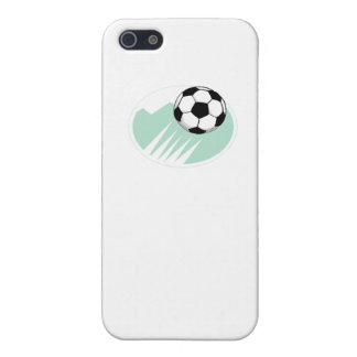 Flying Soccer Ball iPhone 5/5S Cases