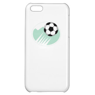 Flying Soccer Ball Case For iPhone 5C
