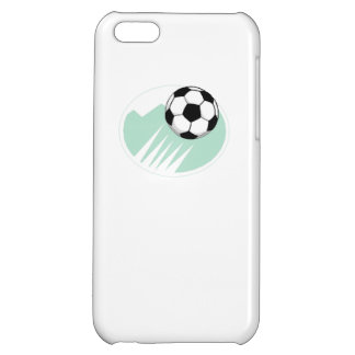 Flying Soccer Ball iPhone 5C Covers