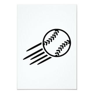 Flying Softball Card