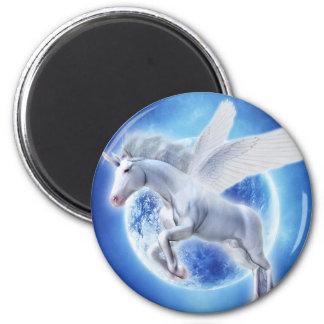 Flying Soul Refrigerator Magnets