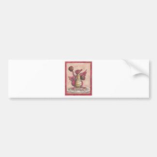 Flying Spaghetti Dragon Car Bumper Sticker