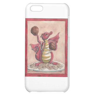Flying Spaghetti Dragon iPhone 5C Cases