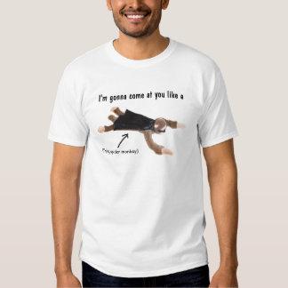 flying spider monkey t shirts