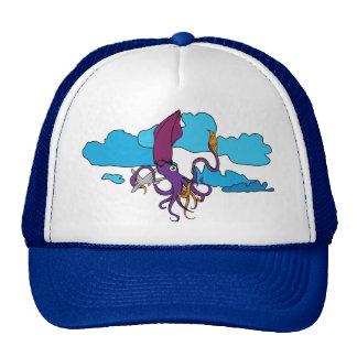 flying-squid-plane trucker hat