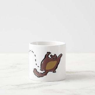 flying squirrel espresso cup