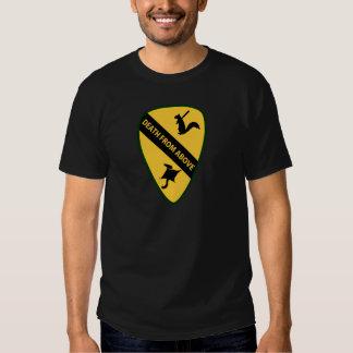 Flying Squirrel First Air Cavalry Insignia Shirt