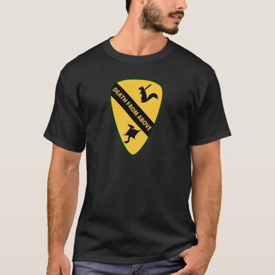 Flying Squirrel First Air Cavalry Insignia T-Shirt