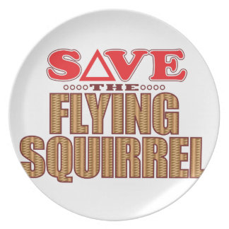 Flying Squirrel Save Plate