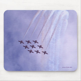 Flying Subsonic Airforce Jets Mouse Pad