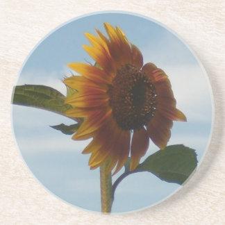Flying Sunflower Drink Coaster