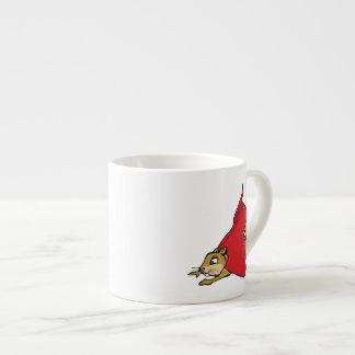 Flying Super Squirrel Espresso Cup