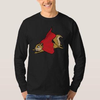 Flying Super Squirrel T Shirt