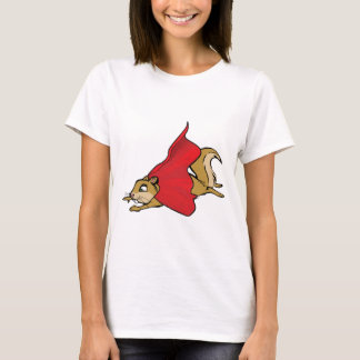 Flying Super Squirrel T-Shirt