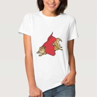 Flying Super Squirrel Tees