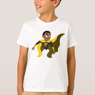 Flying superhero boy cartoon T-Shirt