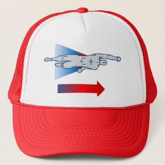 Flying Superhero Trucker Hat