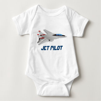 Flying Supersonic Airforce Jet Baby Bodysuit