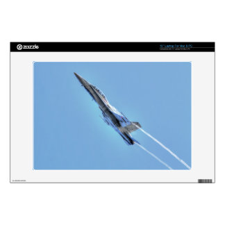 """Flying Supersonic Airforce Jet 13"""" Laptop Decals"""