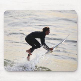 Flying Surfer Mousepad