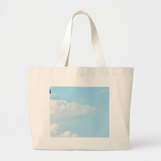 Flying Swallow Large Tote Bag