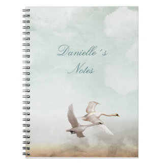 Flying Swans Notebook