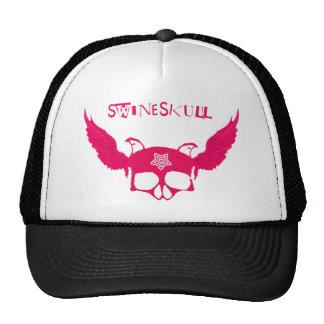 Flying Swine Hat Black/Pink