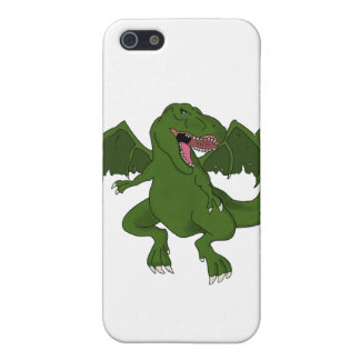 Flying T-Rex iPhone Case